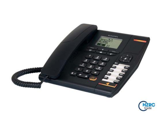 Alcatel Haustelefon Schnurgebundenes Schwarz
