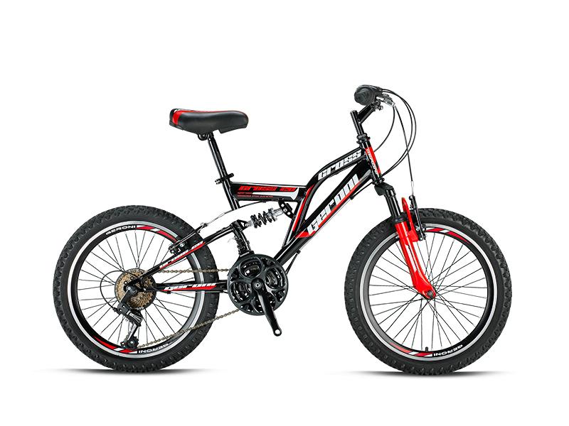cross 20 zoll fahrrad fully vollgefedert mountainbike rad. Black Bedroom Furniture Sets. Home Design Ideas